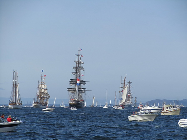 The Tall ships race 2011