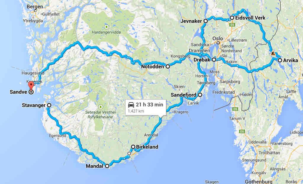 kart over arvika Bobil ferie høsten 2014 kart over arvika
