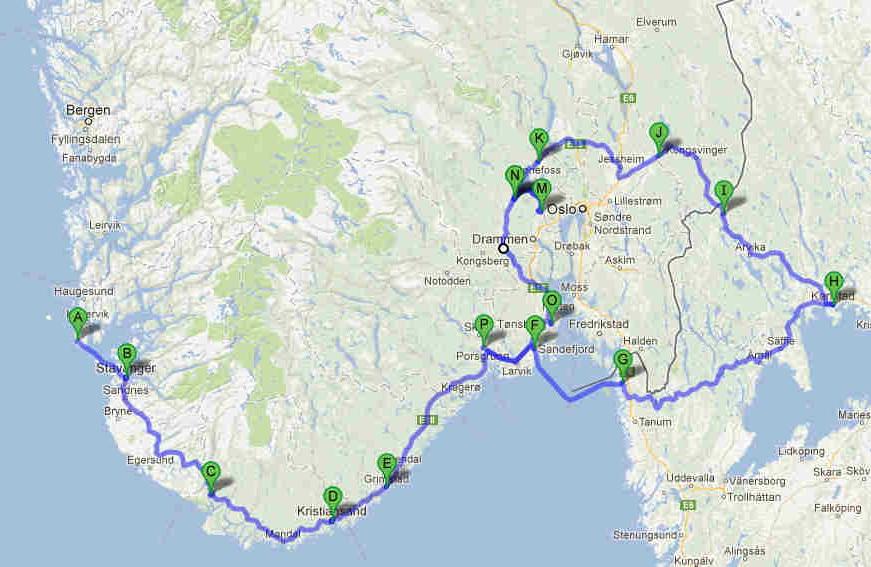 charlottenberg kart Høstferie til Sverige i bobil 2012 charlottenberg kart