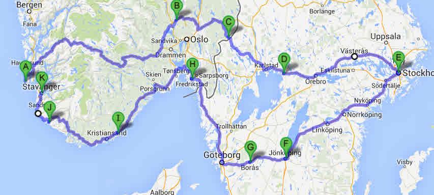 Hostferie I Bobil Til Sverige Og Stockholm