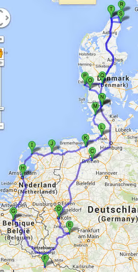 Bobil Ferie I Danmark Tyskland Luxemburg Belgia Nederland Frankrike