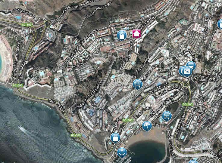kart over puerto rico Gran Canaria, Puerto Rico kart over puerto rico